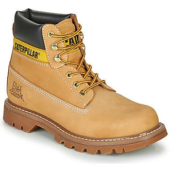 Topánky Muži Polokozačky Caterpillar COLORADO Svetlá hnedá medová