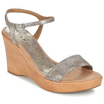 Topánky Ženy Sandále Unisa RITA Zlatá