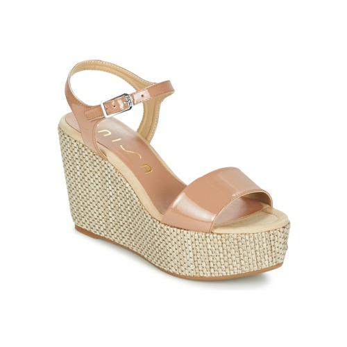 Topánky Ženy Sandále Unisa LITUAN Béžová / Ružová
