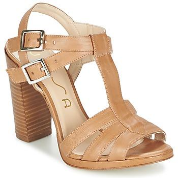 Topánky Ženy Sandále Unisa YUM Béžová