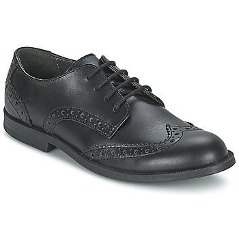 Topánky Dievčatá Derbie Start Rite BURFORD čierna