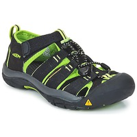 Topánky Chlapci Športové sandále Keen KIDS NEWPORT H2 Čierna / Zelená