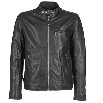 Oblečenie Muži Kožené bundy a syntetické bundy Schott BLODOU Čierna