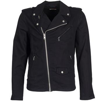 Oblečenie Muži Džínsové bundy Schott JOHN Čierna