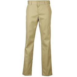 Oblečenie Muži Nohavice Chinos a Carrot Dickies SLIM FIT WORK PANT Béžová