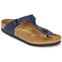 Topánky Sandále Birkenstock GIZEH Modrá