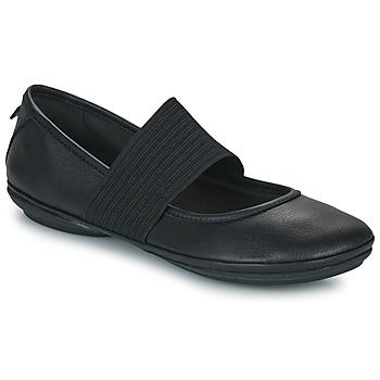 Topánky Ženy Balerínky a babies Camper RIGHT NINA Čierna
