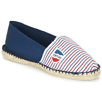 Topánky Espadrilky 1789 Cala CLASSIQUE BICOLORE Modrá / Biela / Červená
