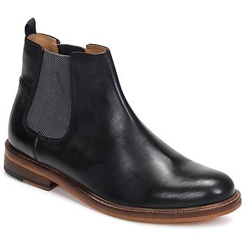 Topánky Muži Polokozačky Ben Sherman DEON CHELSEA BOOT čierna