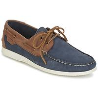 Topánky Muži Námornícke mokasíny Ben Sherman OAUK BOAT SHOE Námornícka modrá / Hnedá