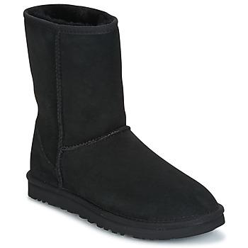 Topánky Ženy Polokozačky UGG CLASSIC SHORT čierna