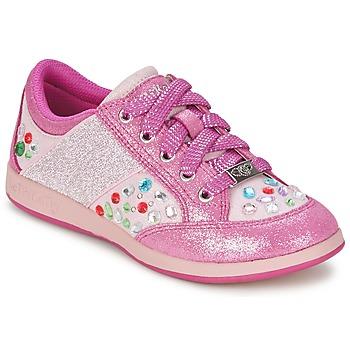 Topánky Dievčatá Nízke tenisky Lelli Kelly GLITTER-ROSE-CALIFORNIA Ružová