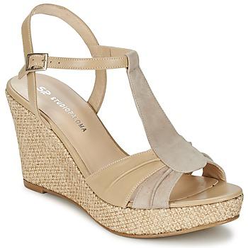 Topánky Ženy Sandále Studio Paloma LUCREZIA Béžová
