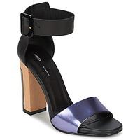 Topánky Ženy Sandále Miista LILY čierna / Levanduľová