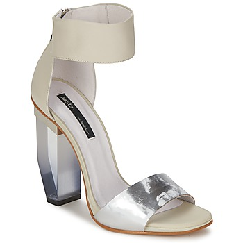 Topánky Ženy Sandále Miista JAYDA Biela / Strieborná