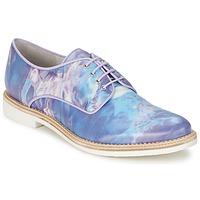 Topánky Ženy Derbie Miista ZOE Modrá