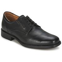 Topánky Muži Derbie Geox FEDERICO čierna