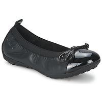 Topánky Dievčatá Balerínky a babies Geox PIUMA BALLERINE Čierna