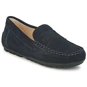 Topánky Chlapci Mokasíny Geox FAST Modrá