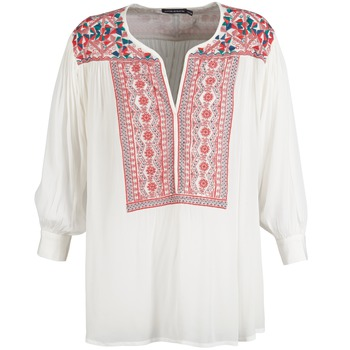 Oblečenie Ženy Blúzky Antik Batik CAREYES Biela