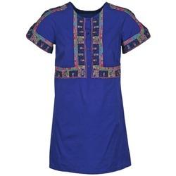 Oblečenie Ženy Krátke šaty Antik Batik EMILIE Námornícka modrá