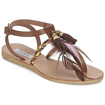 Topánky Ženy Sandále Coolway MELROSE Hnedá
