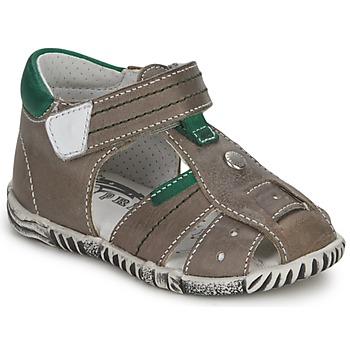 Topánky Chlapci Sandále Primigi QUINCY Šedá / Zelená