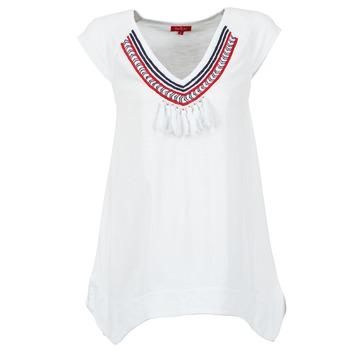 Oblečenie Ženy Tričká s krátkym rukávom Derhy GALION Biela