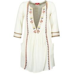 Oblečenie Ženy Krátke šaty Derhy EMBOUCHURE Krémová