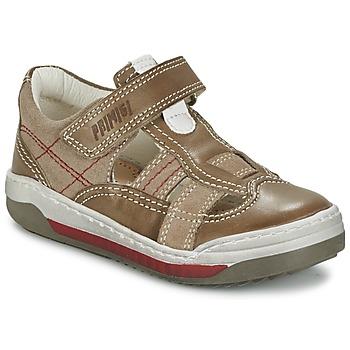 Topánky Chlapci Sandále Primigi GART Hnedá