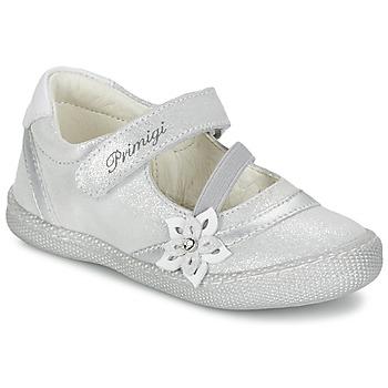 Topánky Dievčatá Balerínky a babies Primigi ROSELINE-E Strieborná