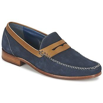 Topánky Muži Mokasíny Barker WILLIAM Námornícka modrá