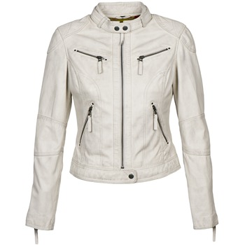 Oblečenie Ženy Kožené bundy a syntetické bundy Oakwood 60135 Biela