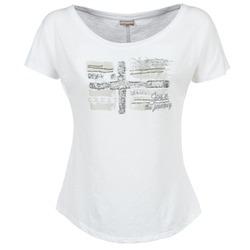 Oblečenie Ženy Tričká s krátkym rukávom Napapijri SINK Biela