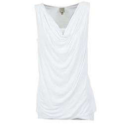 Oblečenie Ženy Tielka a tričká bez rukávov Bench DUPLE Biela