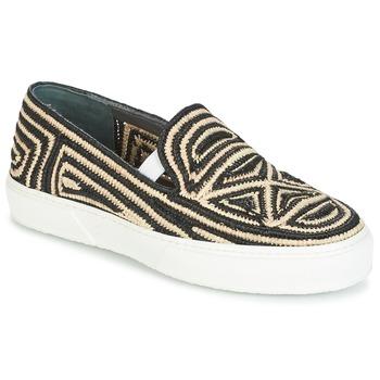 Topánky Ženy Slip-on Robert Clergerie TRIBAL čierna / Béžová