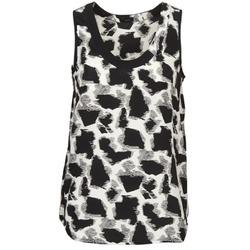 Oblečenie Ženy Tielka a tričká bez rukávov Joseph DEBUTANTE čierna / Biela / šedá