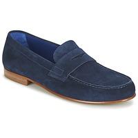 Topánky Muži Mokasíny Azzaro GOURIAN Námornícka modrá