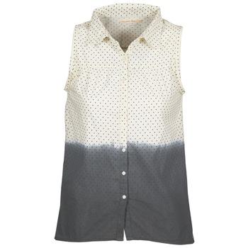 Oblečenie Ženy Košele a blúzky Teddy Smith CAMILLE Modrá / Krémová