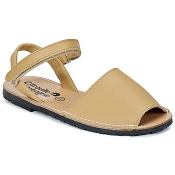Topánky Dievčatá Sandále Citrouille et Compagnie BERLA Béžová