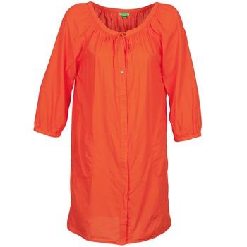 Oblečenie Ženy Krátke šaty Bensimon FOURTY Oranžová