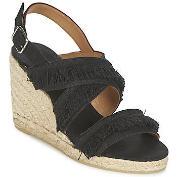 Topánky Ženy Sandále Castaner BEGGA Čierna