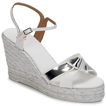 Topánky Ženy Sandále Castaner BESSIE Biela / Strieborná