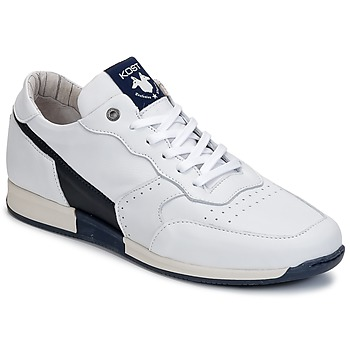Topánky Muži Nízke tenisky Kost HOOPER Biela / Námornícka modrá