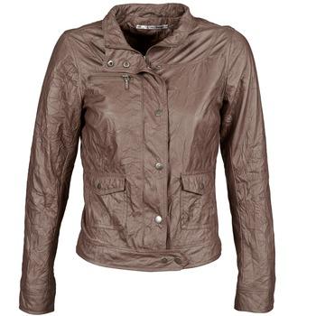 Oblečenie Ženy Kožené bundy a syntetické bundy DDP GIRUP Hnedá