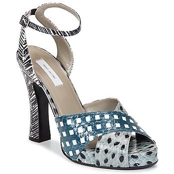 Topánky Ženy Sandále Marc Jacobs Elap Modrá / Biela