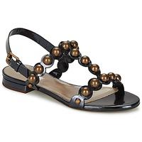 Topánky Ženy Sandále Marc Jacobs Vegetal Čierna