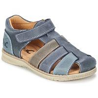 Topánky Chlapci Sandále Citrouille et Compagnie ZIDOU Námornícka modrá / šedá