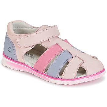 Topánky Dievčatá Sandále Citrouille et Compagnie FRINOUI Ružová / Modrá / Fuksiová