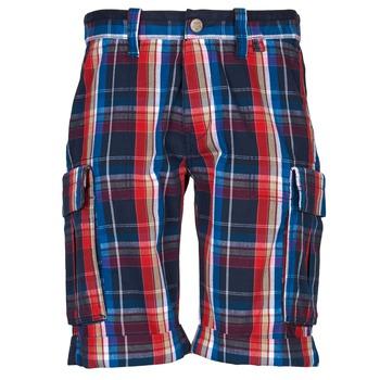Oblečenie Muži Šortky a bermudy Oxbow TAKAROA Námornícka modrá / Červená